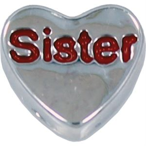 Picture of 'Sister' Heart Charm